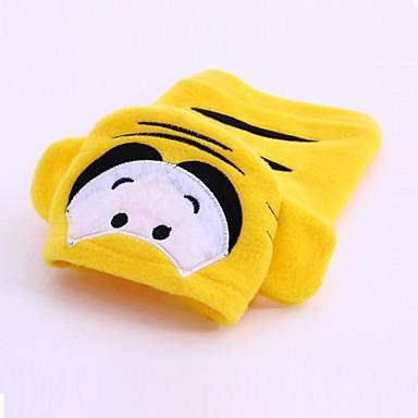 Pies Kostiumy Bluzy z kapturem Ubrania dla psów Urocza Cosplay Rysunek Yellow Kostium Dla zwierząt domowych