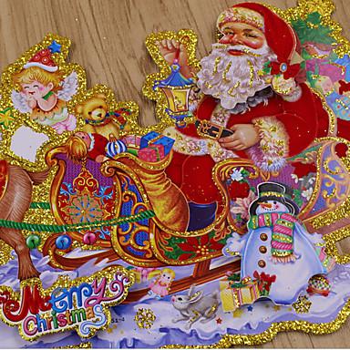 Koristeet Ulko-jouluseimet Eläimet Lumiukot Santa Kotikäyttöön Ammattikäyttöön Indoor UlkoiluForLoma-koristeet