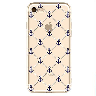 Pouzdro Uyumluluk Apple iPhone X iPhone 8 Temalı Arka Kapak çapa Yumuşak TPU için iPhone X iPhone 8 Plus iPhone 8 iPhone 7 iPhone 6s