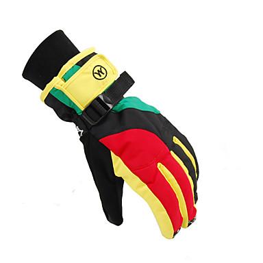 Dla obu płci Rękawiczki zimowe Full Finger Keep Warm Oddychający Rękawiczki sportowe Nylon Bawełna Rękawice narciarskie Narciarstwo Sport
