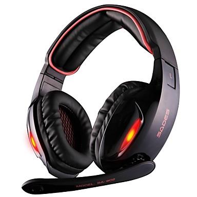 semleges termék SA903 Fejhallgatók (fejpánt)ForSzámítógépWithMikrofonnal / DJ / Hangerő szabályozás / Játszás / Zajcsökkentő / Hi-Fi /