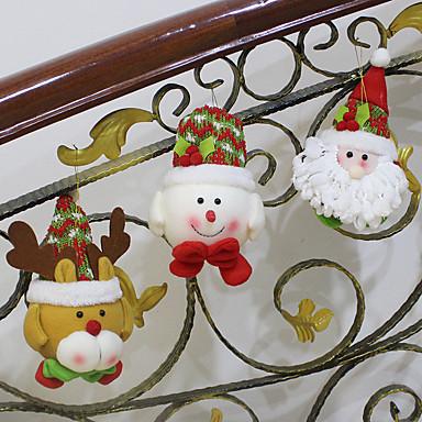 1db véletlen forró eladó karácsonyi dekoráció mikulás, hóember, karácsony, figurák