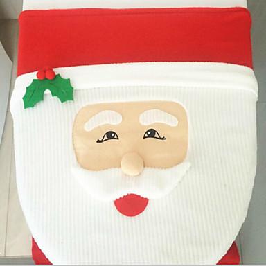 귀여운 상업 만화 산타 클로스 화장실 뚜껑 방석 43cm * 33cm
