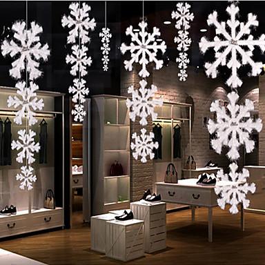 Zdobienia Figurki i ozdoby na zewnątrz Płatek śniegu Domowy Komercyjny Wewnątrz Obuwie turystyczneForDekoracje świąteczne