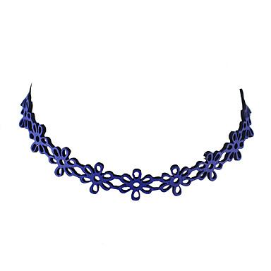 Damskie Kształt Podstawowy Naszyjniki choker Biżuteria Koronka Naszyjniki choker Codzienny Casual Biżuteria kostiumowa
