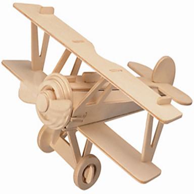 Drewniane puzzle Samolot Dom profesjonalnym poziomie Drewniany Boże Narodzenie Karnawał Dzień Dziecka Dla dziewczynek Dla chłopców Prezent