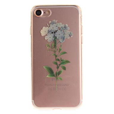 Για IMD tok Πίσω Κάλυμμα tok Λουλούδι Μαλακή TPU για Apple iPhone 7 / iPhone 6s/6