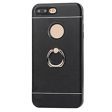 Mert Ütésálló / Állvánnyal / Tartó gyűrű Case Hátlap Case Egyszínű Kemény Fém Apple iPhone 7 Plus / iPhone 7