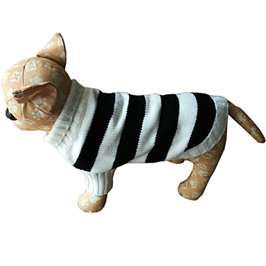 Köpek Kazaklar Köpek Giyimi Günlük/Sade Çizgi Kostüm Evcil hayvanlar için
