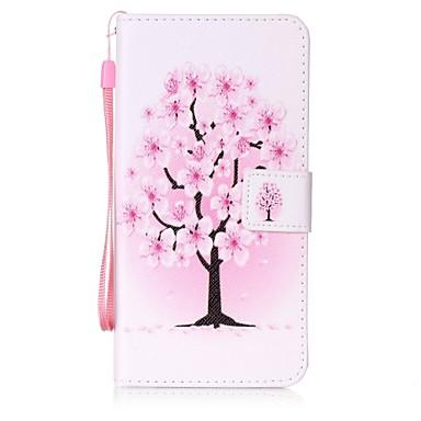 Για Πορτοφόλι / Θήκη καρτών / με βάση στήριξης / Ανοιγόμενη tok Πίσω Κάλυμμα tok Δέντρο Σκληρή Συνθετικό δέρμα για AppleiPhone 7 Plus /