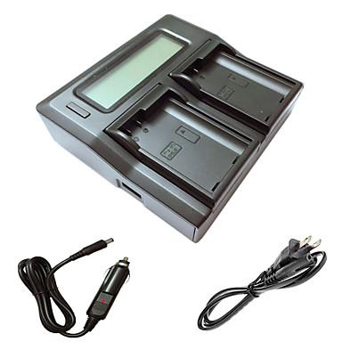 ismartdigi EL15 LCD podwójny ładowarka z kablem ładowania samochodów dla Nikon D7000 D7100 D7200 D750 batterys aparatu D610 D800 D810