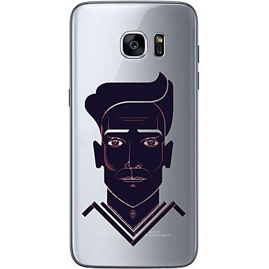 tok Για Samsung Galaxy S7 edge S7 Εξαιρετικά λεπτή Διαφανής Με σχέδια Πίσω Κάλυμμα Ονειροπαγίδα Μαλακή TPU για S7 edge S7 S6 edge plus S6