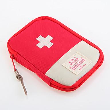 billige Førstehjælp på rejsen-Oxford tekstil Rejsetaske Pilleboks/etui til rejsebrug Vandtæt Bærbar Støv-sikker Opbevaring under rejser Rejsenødhjælp