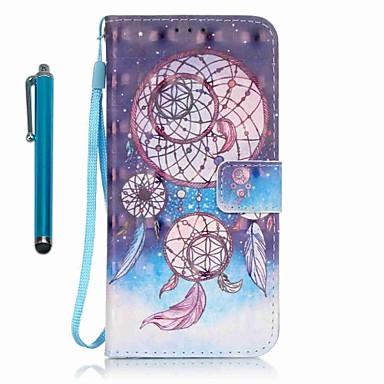 Kılıf Na Samsung Galaxy A5(2016) A3(2016) Etui na karty Portfel Z podpórką Pełne etui Łapacz snów Twarde Skóra PU na A5(2016) A3(2016)