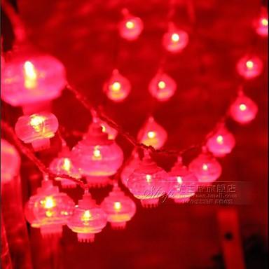 10m κόκκινο χρώμα 100-οδήγησε φως εγχόρδων (220v)
