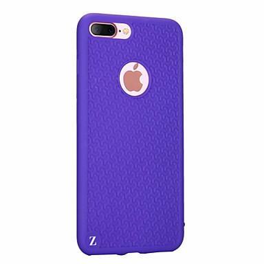 용 울트라 씬 케이스 뒷면 커버 케이스 라인 / 웨이브 소프트 실리콘 용 Apple 아이폰 7 플러스 / 아이폰 (7)