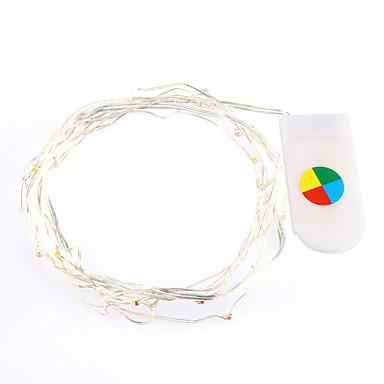 2 m ciepły / biały kolor doprowadziły ciąg świateł do dekoracji