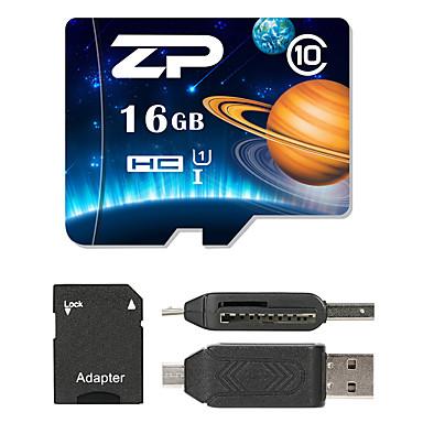 ZP 16GB Micro SD kart TF Kart hafıza kartı UHS-I U1 / Sınıf 10