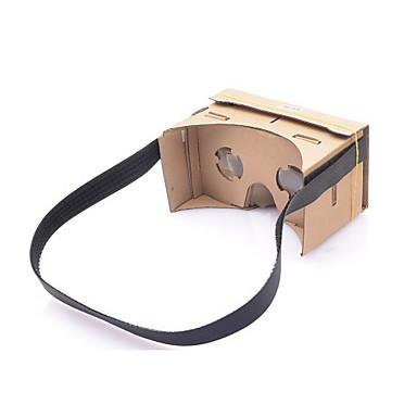 NEJE diy google karton sanal gerçeklik 3d gözlük 4-7 inç cep telefonu için NFC ile kafa bandı