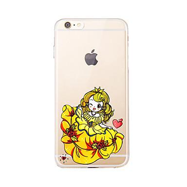Için Şeffaf / Temalı Pouzdro Arka Kılıf Pouzdro Seksi Kadın Yumuşak TPU için AppleiPhone 7 Plus / iPhone 7 / iPhone 6s Plus/6 Plus /