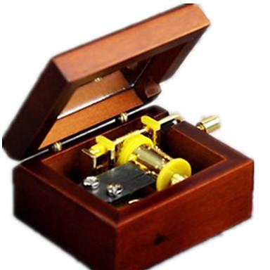 Music Box Zabawki Kwadrat Classic & Timeless Sztuk Dla chłopców Dla dziewczynek Walentynki Prezent