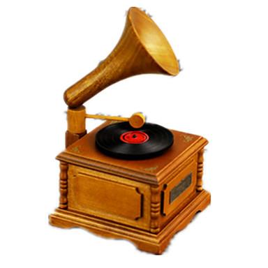 Müzik Kutusu Oyuncaklar Dörtgen Klasik & Zamansız Parçalar Genç Erkek Genç Kız Sevgililer Günü Doğum Dünü Hediye