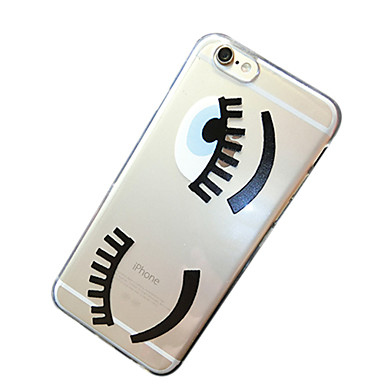 hoesje Voor iPhone 6s Plus iPhone 6 Plus iPhone 6 Plus Achterkant Zacht TPU voor iPhone 6s Plus iPhone 6 Plus