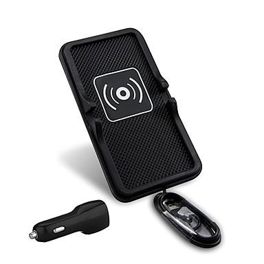 mindzo evrensel 5v2a araç kablosuz şarj araç qi smartphone için tutucu qi standardını bağlar