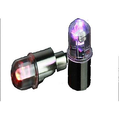 Araba Bisiklet Motosiklet için Coloful LED Jant Lambası