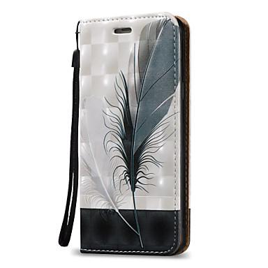 Etui Käyttötarkoitus Samsung Galaxy A5(2016) A3(2016) Korttikotelo Lomapkko Flip Suojakuori Sulat Kova PU-nahka varten A5(2016) A3(2016)