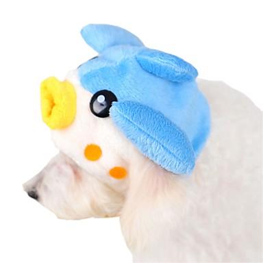 Γάτα Σκύλος Μπαντάνες & Καπέλα Ρούχα για σκύλους Χαριτωμένο Κινούμενα σχέδια Μπλε