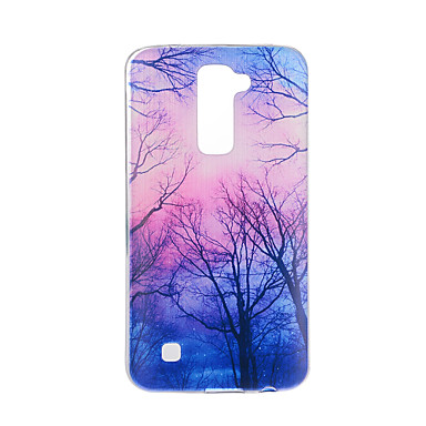 Case For LG G3 LG K8 LG LG K10 LG K7 LG G5 LG G4 Pattern Back Cover Tree Soft TPU for LG V20 LG V10
