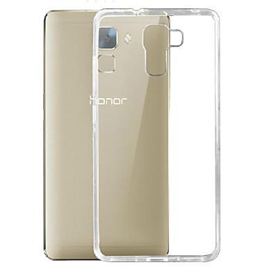 tok Για Huawei Honor 7 Huawei Θήκη Huawei Εξαιρετικά λεπτή Διαφανής Πίσω Κάλυμμα Συμπαγές Χρώμα Μαλακή TPU για Huawei Honor 7 Huawei