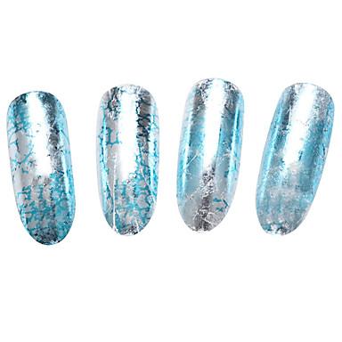 10p cs Nail Art Samoprzylepna Folie transferowe Woda Kosmetyki do makijażu Nail Art Design