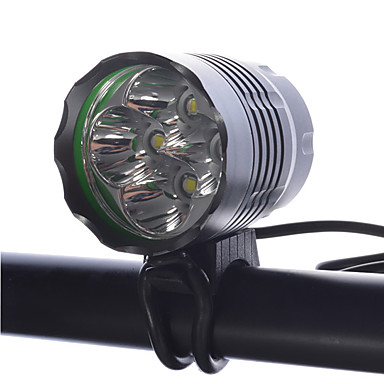 Φακοί LED Φακοί Κεφαλιού Φώτα Ποδηλάτου LED Cree XM-L T6 Ποδηλασία Επαναφορτιζόμενο Μικρό Μέγεθος Εξαιρετικά Ελαφρύ Με ροοστάτη 18650 4000