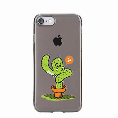 Για Διαφανής / Με σχέδια tok Πίσω Κάλυμμα tok Κινούμενα σχέδια Μαλακή TPU για AppleiPhone 7 Plus / iPhone 7 / iPhone 6s Plus/6 Plus /