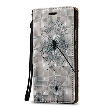 Για Θήκες Καλύμματα Πορτοφόλι Θήκη καρτών Πλήρης κάλυψη tok Πικραλίδα Σκληρή PU Δέρμα για Huawei Huawei P9 Lite