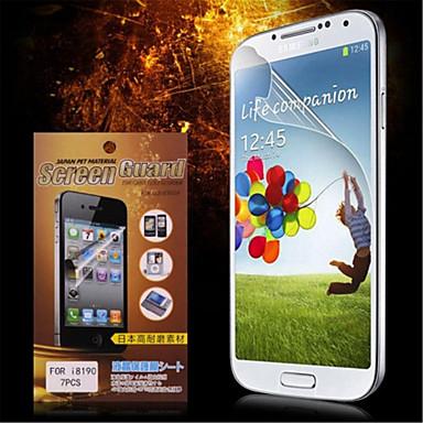 Ekran Koruyucu için Samsung Galaxy Other PET Ön Ekran Koruyucu Yüksek Tanımlama (HD)