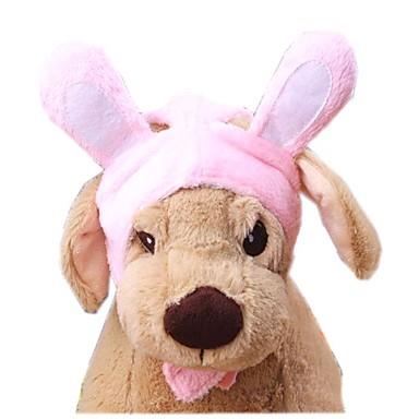 Kot Pies Kostiumy Bandany i kapelusze Ubrania dla psów Urocza Stały Różowy