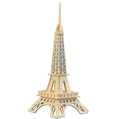 تركيب خشبي ألعاب برج بناء مشهور برج ايفيل المستوى المهني خشب الحديد صبيان فتيات 1 قطع