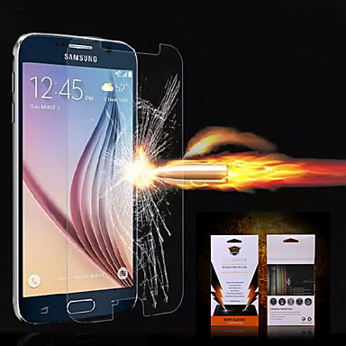 Screenprotector voor Samsung Galaxy S6 edge PET Voorkant screenprotector