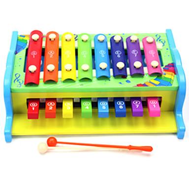 Ksilofon Eğitici Oyuncak Oyuncaklar Yenilikçi Eğlence Tahta 1 Parçalar Genç Erkek Genç Kız Çocukların Günü Hediye