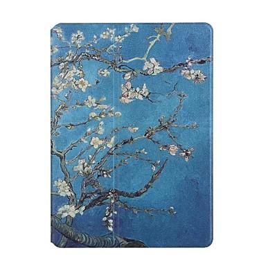 Etui Käyttötarkoitus Apple iPad 4/3/2 Korttikotelo Origami Suojakuori Kukka Kova PU-nahka varten iPad 4/3/2 Apple