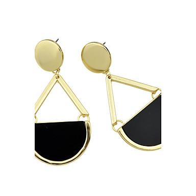 Damla Küpeler Moda alaşım Altın Mücevher Için Günlük 1 çift