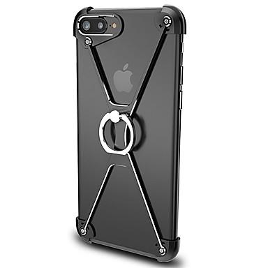 غطاء من أجل Apple iPhone 7 iPhone 7 Plus حامل الخاتم ممتص الصدمات لون الصلبة قاسي ألمنيوم إلى iPhone 7 Plus iPhone 7