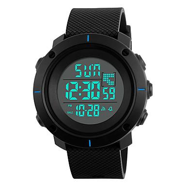 SKMEI Bărbați Ceas La Modă Ceas Sport Piloane de Menținut Carnea Alarmă Calendar Cronograf Rezistent la Apă LED Iluminat Cronometru PU