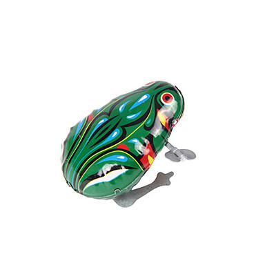 Rüzgar Oyuncakları Oyuncaklar Yenilikçi Kurbağa Demir Metal Vintage 1 Parçalar Çocuklar için Genç Erkek Genç Kız Doğum Dünü Çocukların