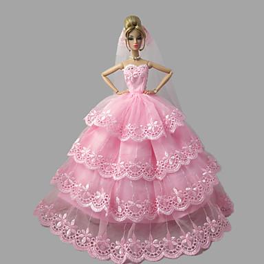 Hercegnő Ruhák mert Barbie baba Ruhák mert Lány Doll Toy