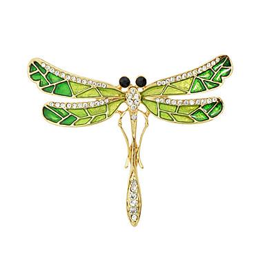 rhinestone μόδας καρφίτσες σχήμα σμάλτο πεταλούδα για τις γυναίκες