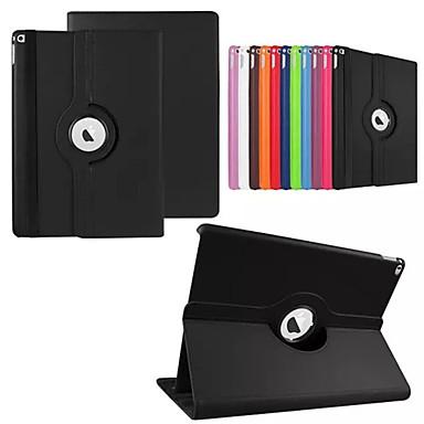 hoesje Voor met standaard Automatisch aan / uit Origami 360° rotatie Volledig hoesje Effen Kleur PU-nahka voor iPad Pro 12.9''